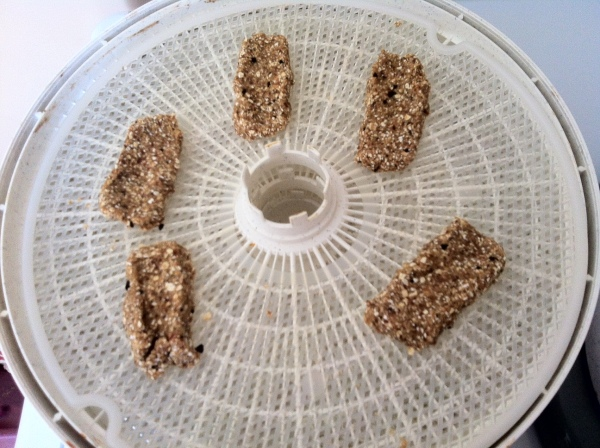 Lady fingers Dehydrating